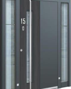 Porte d'entrée 3D AA 207