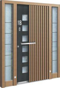 Porte d'entrée 3D AA 226