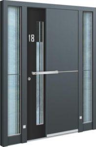 Porte d'entrée 3D AA 239