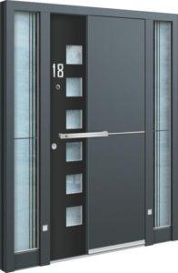 Porte d'entrée 3D AA 240