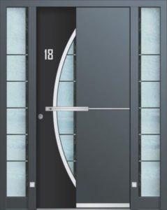 Porte d'entrée 3D AA 242