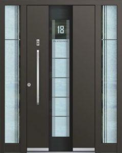 Porte d'entrée 3D AA 244 E