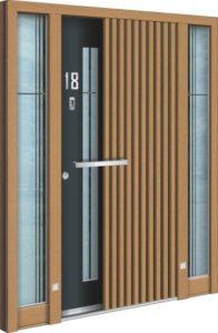 Porte d'entrée 3D AA 245