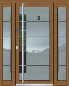 Porte d'entrée ASS 1800