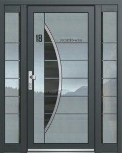 Porte d'entrée ASS 1840