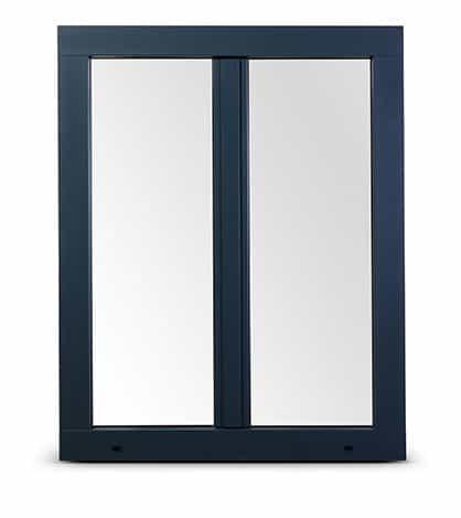 Fenêtre en PVC et aluminium Vision 70