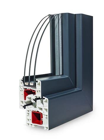 Fenetre PVC Élégance Flat angle standard