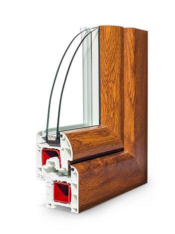 Fenêtre PVC Roundstar Plus standard