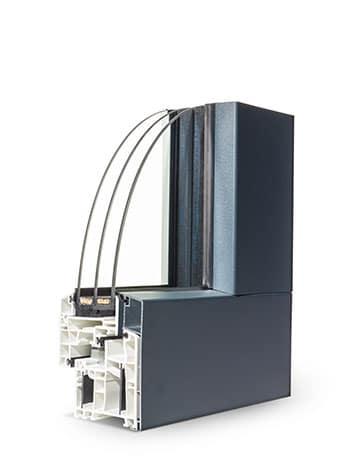 Fenêtre PVC Vision 70 standard