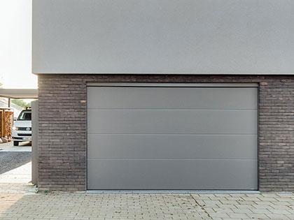 Porte de garage sectionnelle aluminium SP900 Standard